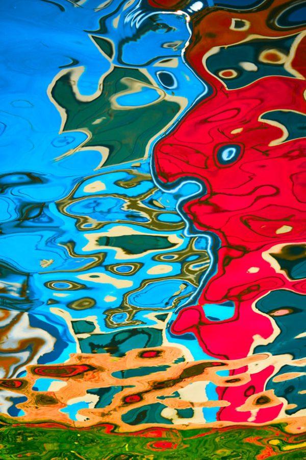 Quadri moderni, EUGENIOFOTOQUADRI, quadri astratti vendita online - Dipinti sull'acqua - 2_DSC07068