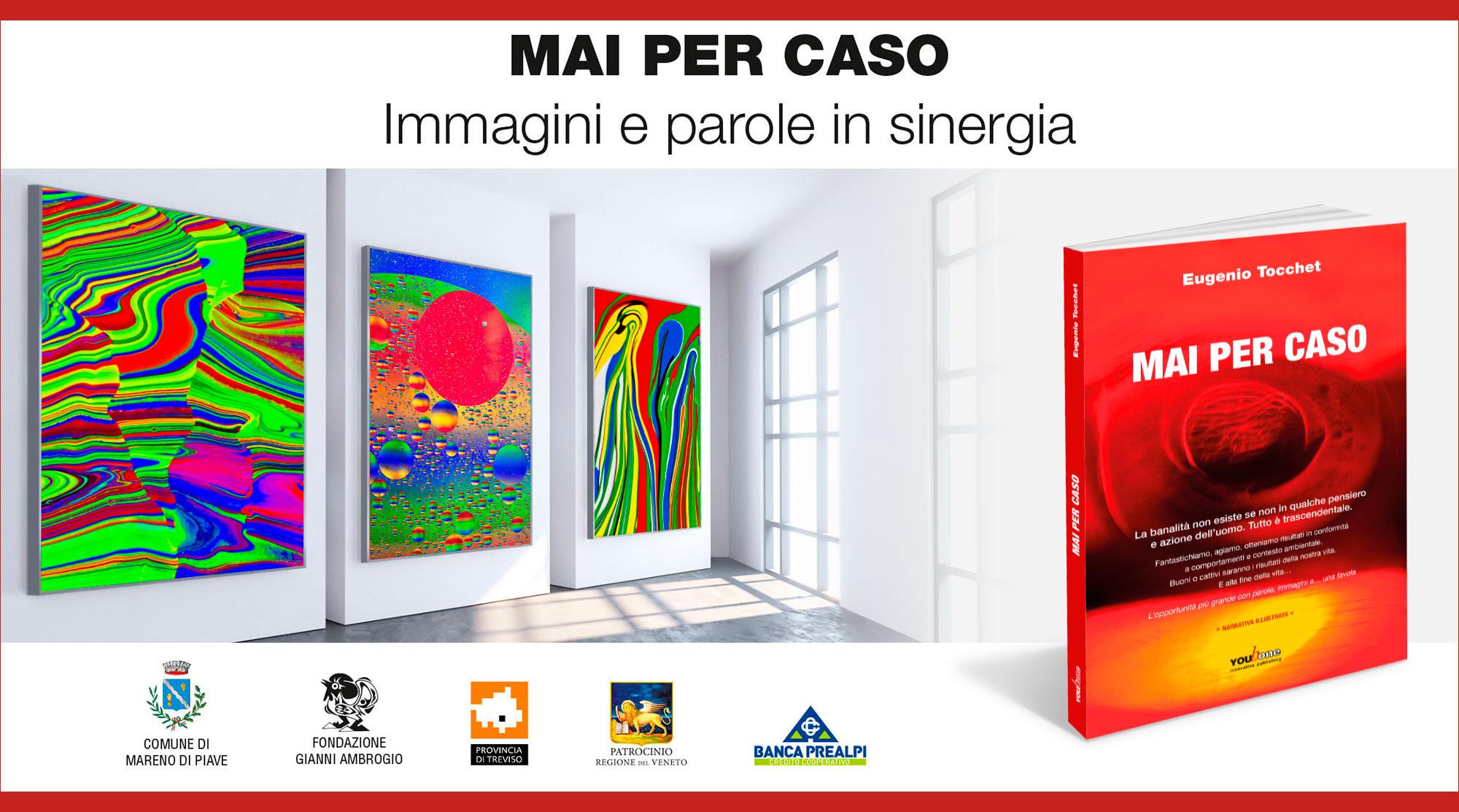 Presentazione mostra quadri moderni e quadri astratti su tela - foto artistiche di Eugenio Tocchet