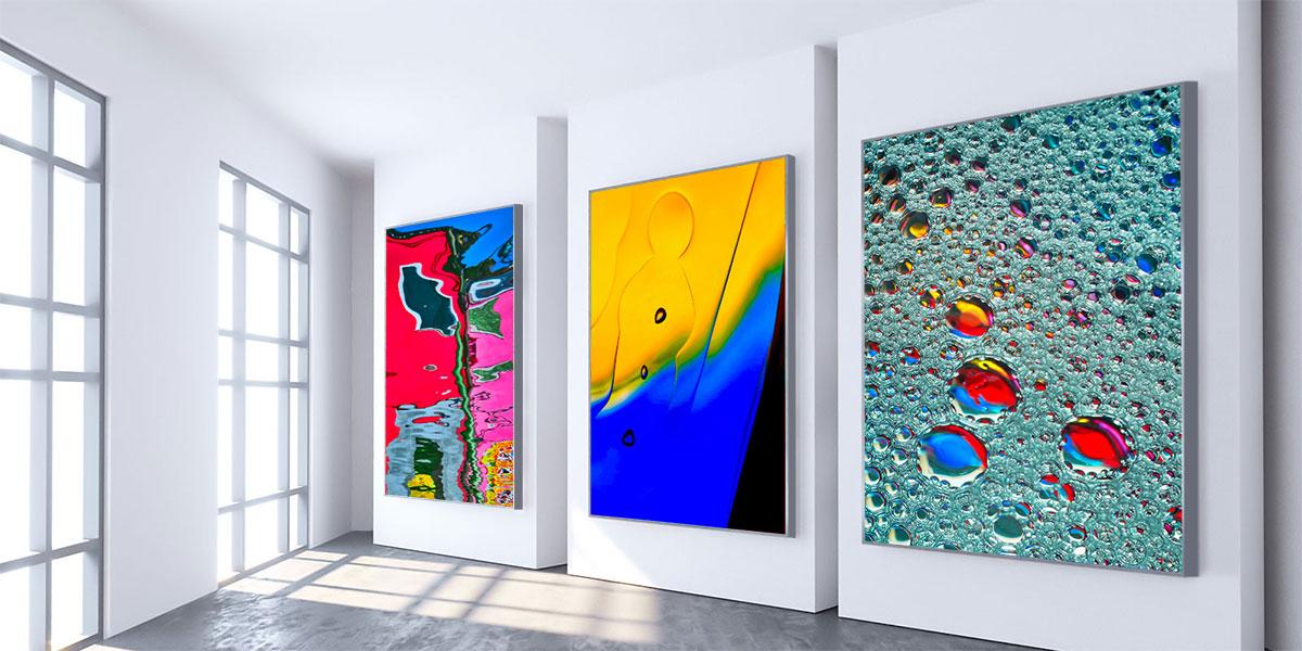 Quadri moderni e astratti su tela in vendita online - condizioni vendita quadri di Eugenio Tocchet